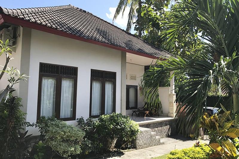 Große balinesische Villa