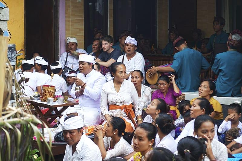 Balinesische Zeremonien