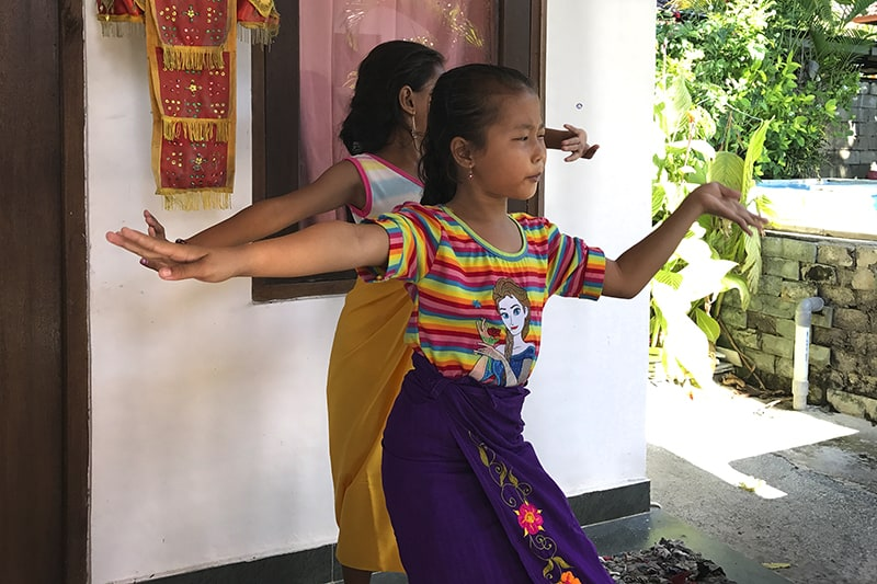 Balinesisch tanzen lernen
